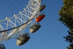 London Eye  32 Gondeln in 135 m Höhe